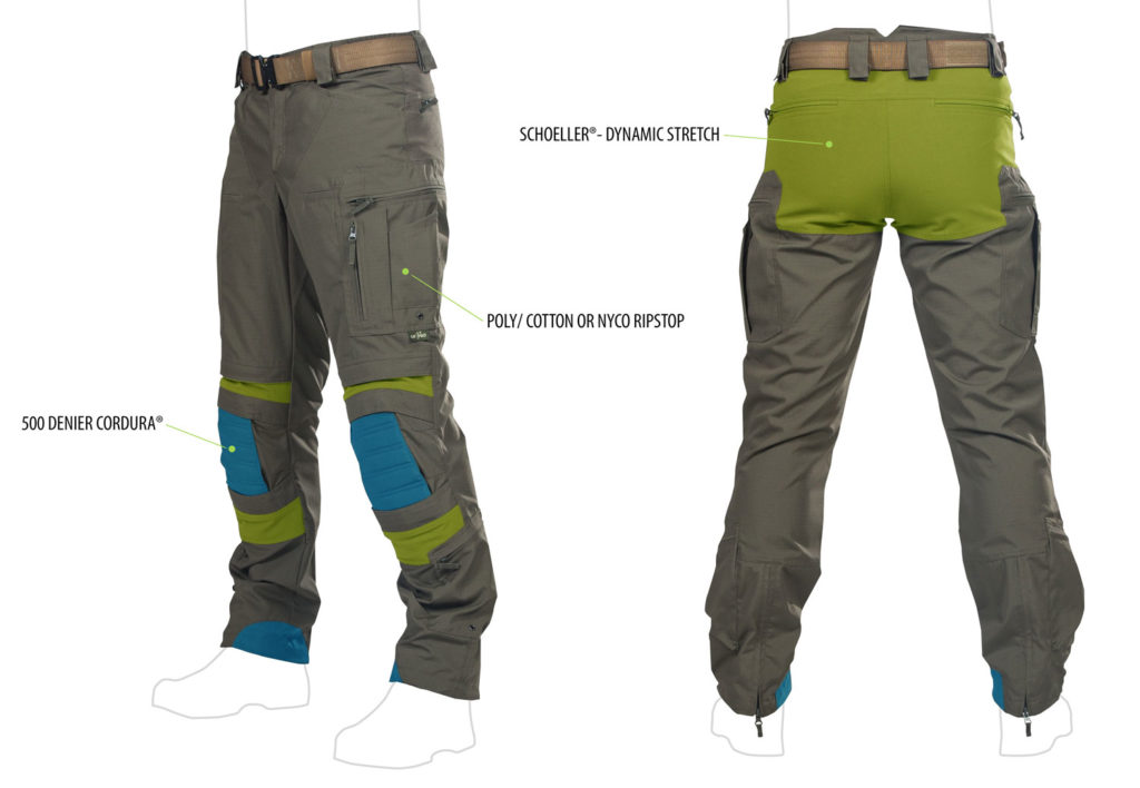 Materials Mix Striker XT Pants