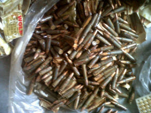 Rusted ammunition