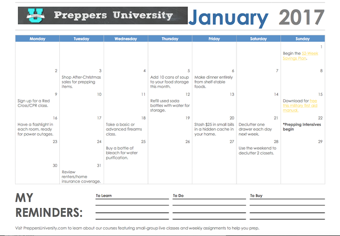 A Planner to Make Prepping Easy - Paratus Business News