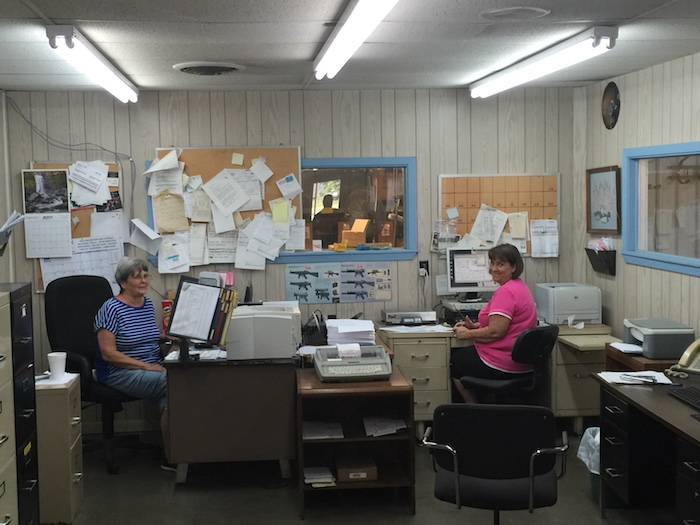 Choate's front office is run by Phyllis and Glenda.