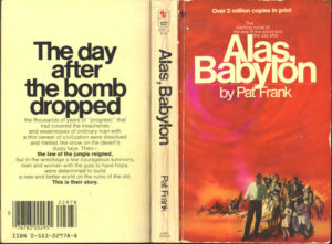 Original book cover, front and back